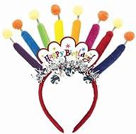 Birthday Candle Headband Party Accessory