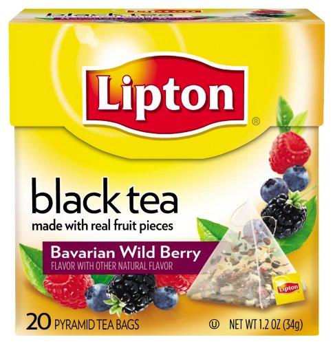 Lipton Pyramids, Bavarian Wild Berry 20 Ct