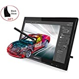 Huion Pen Display for Professionals 2048 Levels Pressure Sensitivity 5080 LPI- Graphics Drawing Pen Monitor GT-190 w/ Glove and Screen Protector
