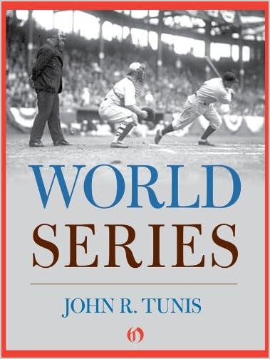 World Series by John R. Tunis