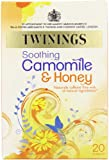 Twinings Camomile, Honey and Vanilla 20 Teabags (Pack of 8, Total 160 Teabags)