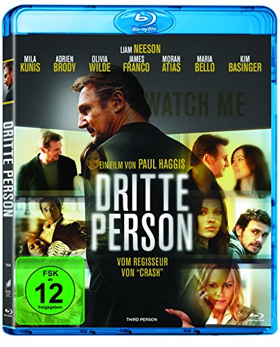 Dritte Person (inkl. Digital Ultraviolet) [Blu-ray]