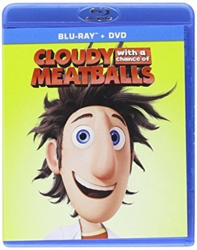 Blu-ray : Cloudy With A Chance Of Meatballs (With DVD, 2 Pack, 2 Disc)