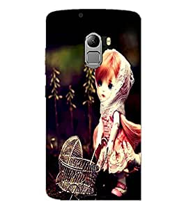 PrintDhaba Cute Doll D-1040 Back Case Cover for LENOVO K4 NOTE A7010 (Multi-Coloured)
