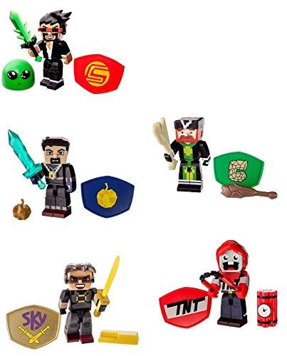 "Tube Heroes 3"" Action Figure Set Of 5"