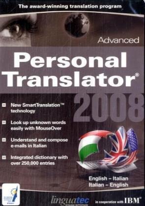 Linguatec Personal Translator 2008 Advanced English-Italian