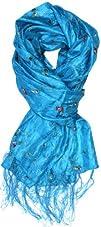 LibbySue-Silk Shantung Look Floral Em…