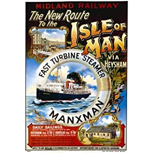 Isle of Man - Large Metal Wall Sign