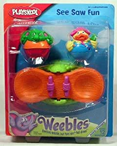 Playskool Weebles See Saw Fun