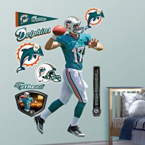 NFL Miami Dolphins Ryan Tannehill Wall Graphics by Fathead