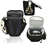 Navitech Black Headphone Carry Case / Cover / Bag For The Sennheiser HD 25 / Sennheiser HD 280 / Sennheiser HD 360