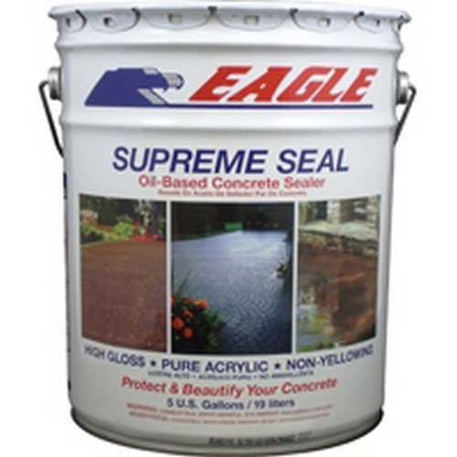 Eagle Sealer EU5 Clear Supreme Seal, 5 gal Pail,(State Sales Restrictions) (Concrete Sealer Clear compare prices)