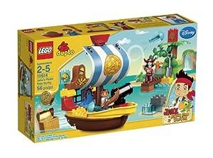 (大降)乐高LEGO 10514 Jakes Pirate 得宝杰克系列3杰克的海盗船仅$27.99