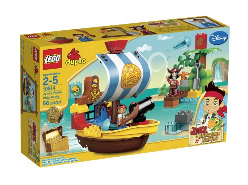 LEGO DUPLO Jakes Pirate Ship Bucky