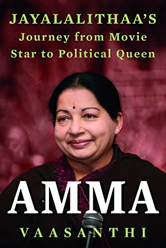 "I felt a sharp pain as if something within me had broken..I was choked with emotions...TN CM Dr. Jayalalithaa had passed away!  I have never had any interest in politics or any politician and never did once imagine that I would be moved by the death of one such leader. I guess that's where I went wrong...Jayalalithaa was not just another politician but truly a super star!  Having lived in Chennai for more than a decade I was a witness to the enormous fan following she had... Men in huge throngs prostrating before a woman was something not many of us can fathom but that was JJ, as she was fondly called, for you.  JJ had an intriguing personality, a magnetic charm that kept me wondering if I should adore her or fear her!  A convent educated, English speaking Brahmin girl, who lost her father at a tender age of 2....longed for her mother's presence all her life, while the latter was trying to have ends meet to fetch for her 2 kids, working in the film industry.  Why did JJ, who was so determined to become a doctor or an architect, hell against at even the thought of joining film industry, drop from the prestigious Stella Maris College and eventually entered films?   What made a 55yr old, mega-star- God of Tamil Cinema, 'The' MGR, fall so much in love with a 16yr old Jayalalithaa?   What made JJ retire from films at the peak of her career?  How did a girl, who always dreamt of marriage and kids, become so naive, heart-broken and lonely?  How was MGR instrumental in shaping JJ's political career...? Why did JJ desexualize herself and gave herself a new name 'Amma' which means 'mother'?  ""Someone pulled at her sari, as if trying to strip her. Filled with rage and humiliation Jayalalithaa left, swearing that she would never step foot inside the assembly 'till I enter the house as a chief minister""... and then history was created!  I have savored every word of this book. I recommend this to everyone!  The void created by her death would never be filled...may her soul rest in peace...."