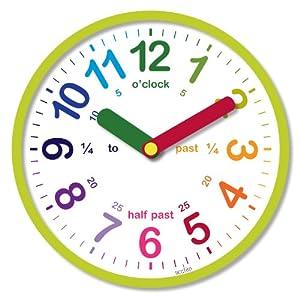 Amazon.com: Acctim 21885 Lulu Wall Clock, Green: Home & Kitchen