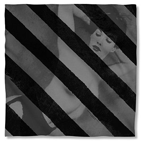 Bettie Page Black Stripes Bandana PAG669BND