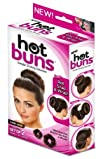 Hot Buns Simple Styling Solution Dark Hair- Set of 2
