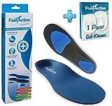 FootActive COMFORT - Original Marken Einlegesohlen (Medium: 42-43)