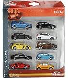 Majorette - 212053240SMO - Véhicule Miniature - Square Pack - 10 Cars - Modèle aléatoire