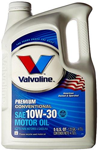Valvoline 779307 sae 10w 30 premium conventional motor oil for Valvoline motor oil test