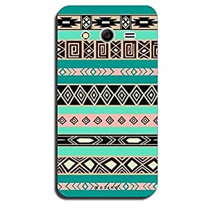 Mozine Dark Blue Pattern printed mobile back cover for Samsung galaxy core 2
