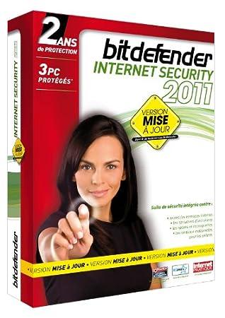 BitDefender Internet Security 2011 (2 ans, 3 postes) - mise à jour