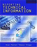 img - for Reporting Technical Information by the late Kenneth W. Houp (2005-08-25) book / textbook / text book