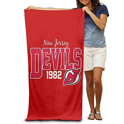 "New Jersey Devils Ice Hockey Team Logo 31.5""51""Pool Beach Towel"