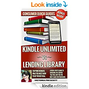 kindle unlimited vs lending library for amazon prime