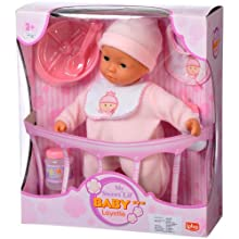 Lotus 12945 Soft Electronic Baby Doll (12-inch)