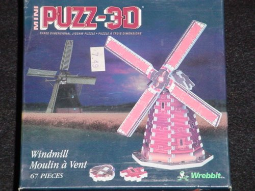 Puzz-3D Mini: Windmill - 1