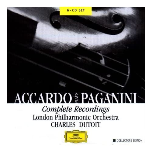 Accardo Plays Paganini - CD - Enya - Enya 的芭蕾世界