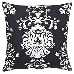 """Product Image Home Garden Party Toss Pillow - Black (20x20"""")"""