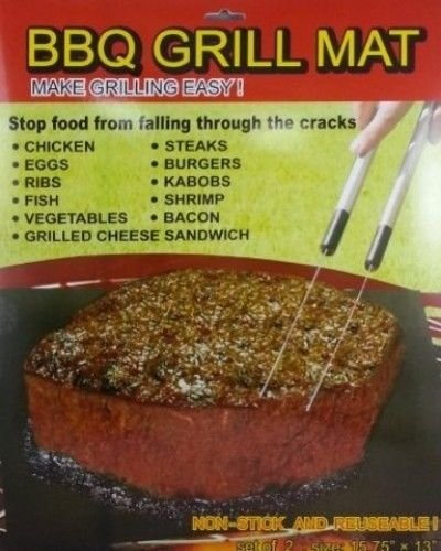 Bbq Grill Mat (Set Of 2) front-380124