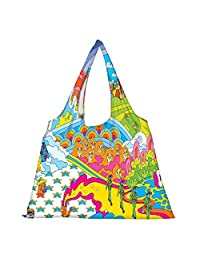Snoogg High Strength Reusable Shopping Bag Fashion Style Grocery Tote Bag Jhola Bag - B01B971LB4
