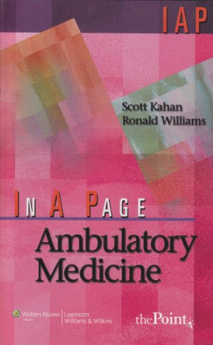 In A Page Ambulatory Medicine (In a Page Series) PDF