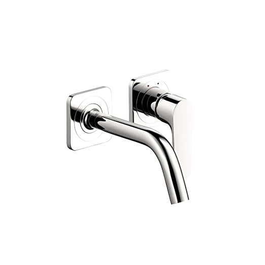 Axor 34116001 Citterio M Wall-Mounted Single Handle Faucet Trim, Chrome
