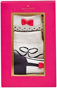 kate spade york 3 Pack Sock Set - 1, Rich Navy/Fresh White, One Size by Tawil & Associates