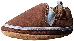 Robeez Eli Crib Shoe (Infant/Toddler),Brown,0-6 Months M US