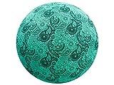 65cm Exercise Ball Cover, yoga ball cover, balance ball cover, birthing ball cover, 100% cotton - Mint Paisley