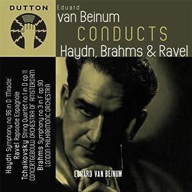 Eduard van Beinum Conducts Haydn, Brahms & Ravel
