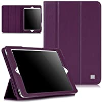 CaseCrown Bold Trifold Case For IPad Mini With Built-in Magnet For Sleep / Wake Feature Purple