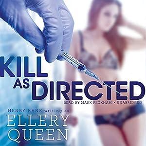 Kill as Directed Audiobook