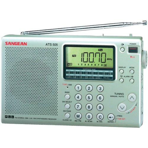 Brand New Sangean 16-Band Digital Am/Fm Stereo Short-Wave Receiver