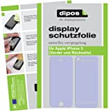 4x Dipos Antireflex Displayschutzfolie fr Apple iPhone 5 Vorder- und Rckseite 2x VORNE und 2x HINTENvon &#34;dipos&#34;