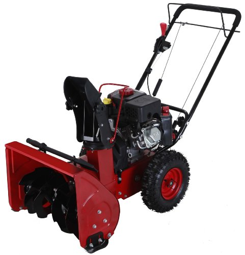 Power Smart DB7659 22-Inch 208CC LCT Compact Gas Powered Two Stage Snow Thrower With Electric Start