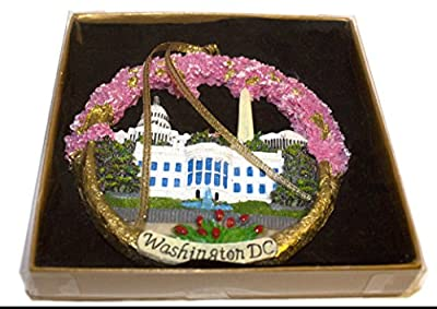 Christmas Ornament/Washington DC Monuments Ceramic