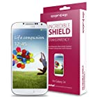 Galaxy S4 Screen Protector, Spigen® Samsung Galaxy S4 Screen Protector Clear Steinheil [Incredible Shield] [Transparency] + Full Body Skin Protection [1-SET] for Galaxy S IV Galaxy SIV i9500