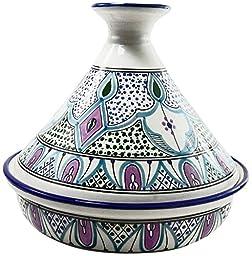 Le Souk Ceramique Malika Design Serving Tagine